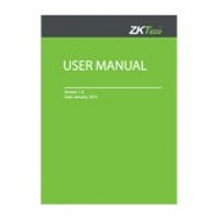 Zkteco installation manual Software User guide template document
